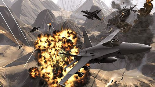Capturas de pantalla del juego Aircraft combat para iPhone, iPad o iPod.