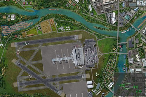 Screenshots vom Spiel Airport madness world edition für iPhone, iPad oder iPod.