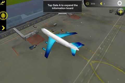 Free Airport simulator download for iPhone, iPad and iPod.