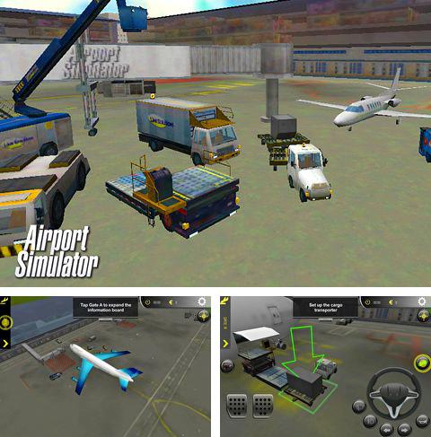 In addition to the game Chicken Racer for iPhone, iPad or iPod, you can also download Airport simulator for free.