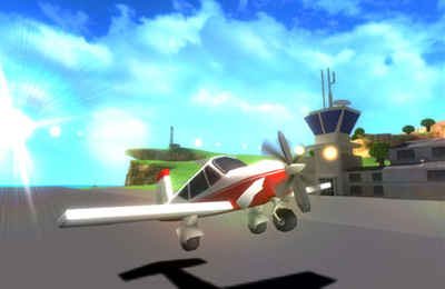 Screenshots of the Airspin game for iPhone, iPad or iPod.