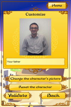 Capturas de pantalla del juego Akinator the Genie para iPhone, iPad o iPod.