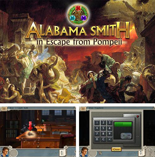 Download Alabama Smith in escape from Pompeii iPhone free game.
