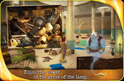 Screenshots of the Aladin and the Enchanted Lamp game for iPhone, iPad or iPod.