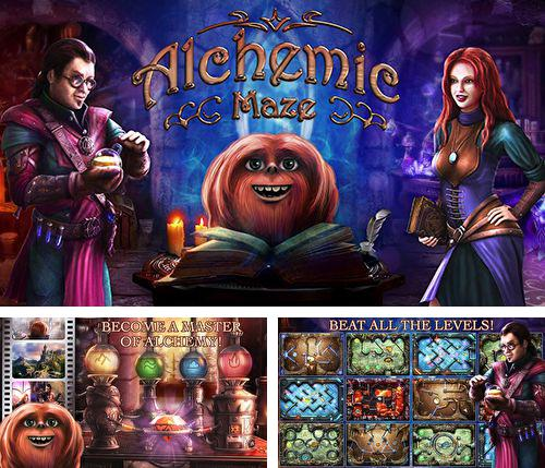 In addition to the game Castle clash for iPhone, iPad or iPod, you can also download Alchemic maze for free.