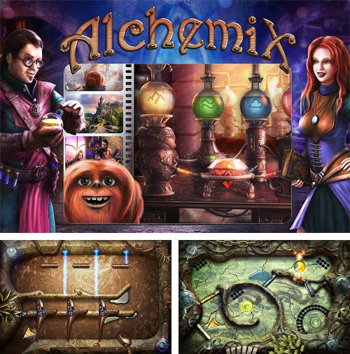 In addition to the game Doodle kick for iPhone, iPad or iPod, you can also download Alchemix for free.