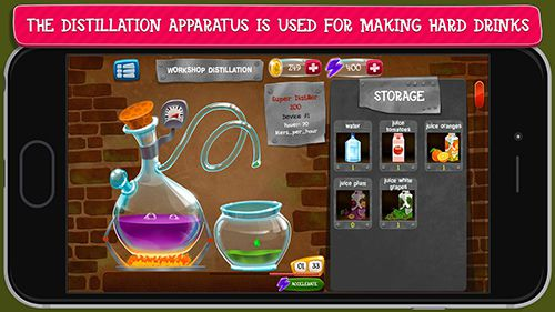 Free Alcohol factory simulator download for iPhone, iPad and iPod.