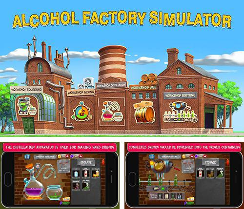 In addition to the game Birdy Bounce for iPhone, iPad or iPod, you can also download Alcohol factory simulator for free.