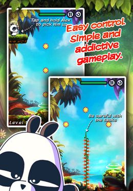 Download AlexPanda HD iPhone free game.