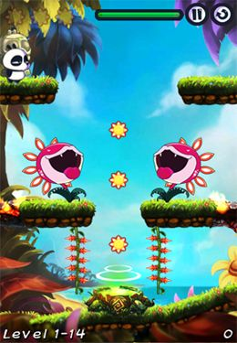 Screenshots of the AlexPanda HD game for iPhone, iPad or iPod.
