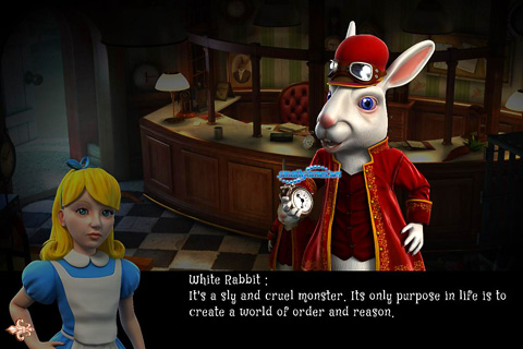 Screenshots vom Spiel Alice: Behind the mirror für iPhone, iPad oder iPod.
