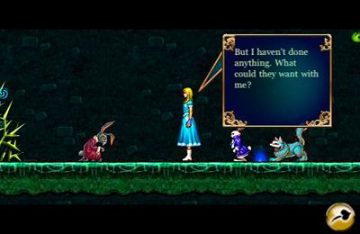 Download Alice in Wonderland: An adventure beyond the Mirror iPhone free game.