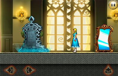Écrans du jeu Alice in Wonderland: An adventure beyond the Mirror pour iPhone, iPad ou iPod.