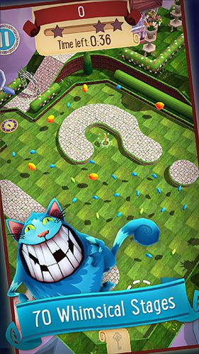 Download Alice in Wonderland: Puzzle golf adventures iPhone free game.