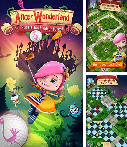 In addition to the game Sushi Cat for iPhone, iPad or iPod, you can also download Alice in Wonderland: Puzzle golf adventures for free.