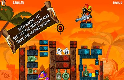Capturas de pantalla del juego Alien Bottle Buccaneer para iPhone, iPad o iPod.