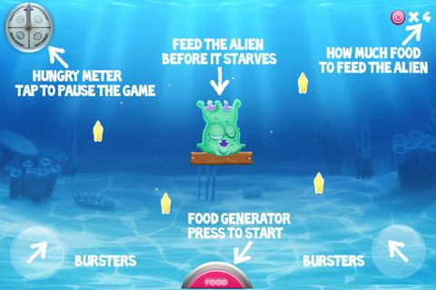 Скачать Alien: Fishtank frenzy на iPhone бесплатно