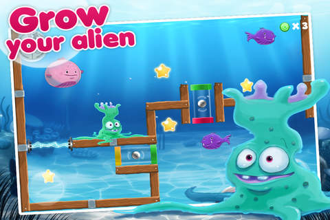 Игра Alien: Fishtank frenzy для iPhone