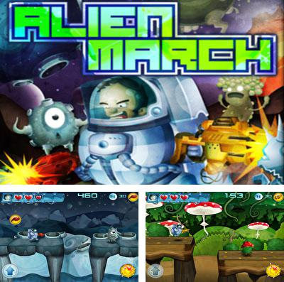 In addition to the game iBomber: Defense for iPhone, iPad or iPod, you can also download Alien March for free.