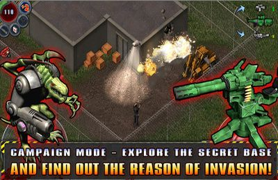 Kostenloser Download von Alien Shooter – The Beginning für iPhone, iPad und iPod.