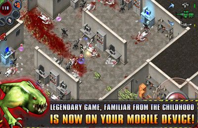 Screenshots of the Alien Shooter – The Beginning game for iPhone, iPad or iPod.