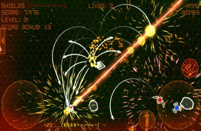 Descarga gratuita del juego Retro-Shooter extraterrestre  para iPhone.