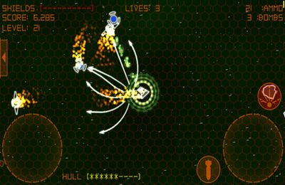 Descarga gratuita de Alien Space Retro para iPhone, iPad y iPod.