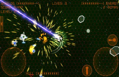 Capturas de pantalla del juego Alien Space Retro para iPhone, iPad o iPod.