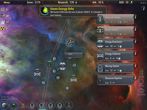 Screenshots of the Alien tribe 2 game for iPhone, iPad or iPod.