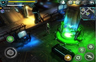Descarga gratuita de Alien Zone Plus para iPhone, iPad y iPod.