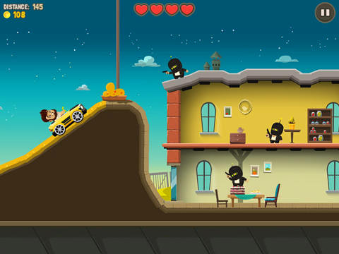 Download Aliens drive me crazy iPhone free game.