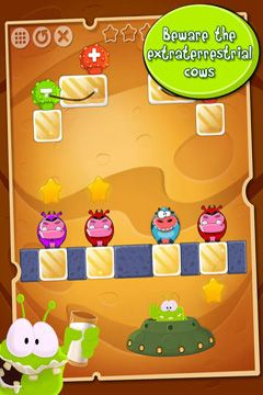 Capturas de pantalla del juego Aliens like milk para iPhone, iPad o iPod.