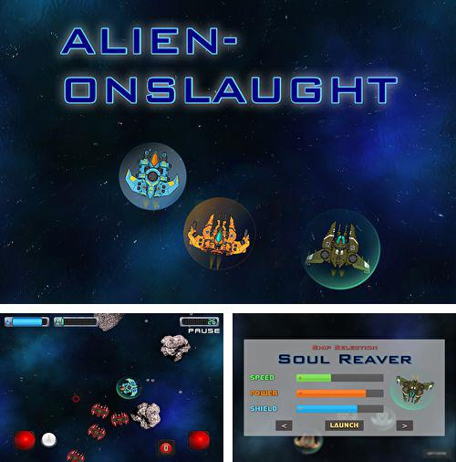 In addition to the game Zombilution for iPhone, iPad or iPod, you can also download Aliens onslaught for free.
