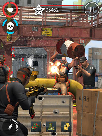 Descarga gratuita de All guns blazing para iPhone, iPad y iPod.