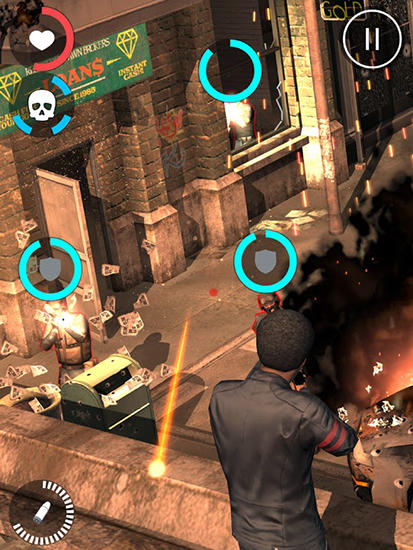 Capturas de pantalla del juego All guns blazing para iPhone, iPad o iPod.