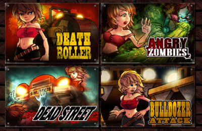 Screenshots vom Spiel All-In-1 ZombieBox für iPhone, iPad oder iPod.