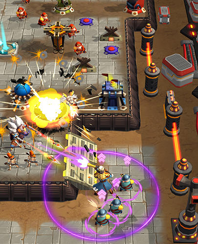 Free All-Star Troopers download for iPhone, iPad and iPod.