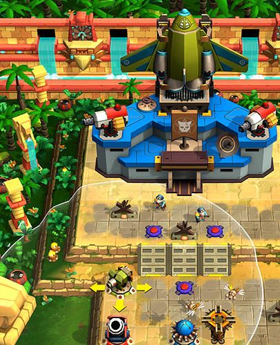 Screenshots of the All-Star Troopers game for iPhone, iPad or iPod.