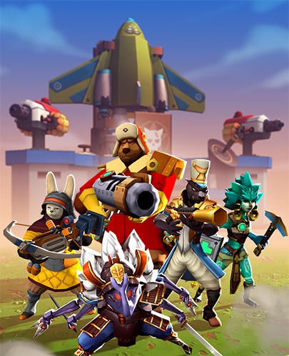 Écrans du jeu All-Star Troopers pour iPhone, iPad ou iPod.