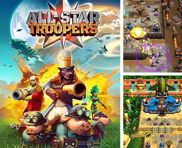 In addition to the game Dragon portals for iPhone, iPad or iPod, you can also download All-Star Troopers for free.