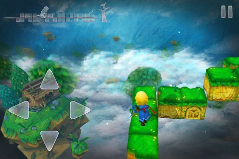 Écrans du jeu Almightree: The last dreamer pour iPhone, iPad ou iPod.