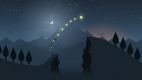 Screenshots do jogo Alto's adventure para iPhone, iPad ou iPod.