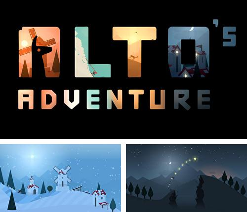 In addition to the game Stunt Car Racing 99 Tracks for iPhone, iPad or iPod, you can also download Alto's adventure for free.