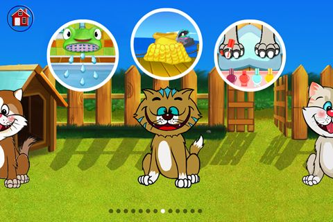 Download Amazing cat: Pet salon iPhone free game.