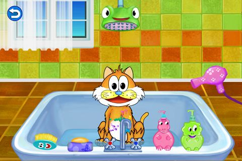Screenshots of the Amazing cat: Pet salon game for iPhone, iPad or iPod.