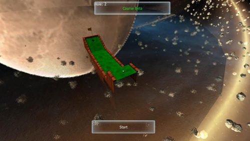 Descarga gratuita del juego Impresionante mini golf 3D para iPhone.