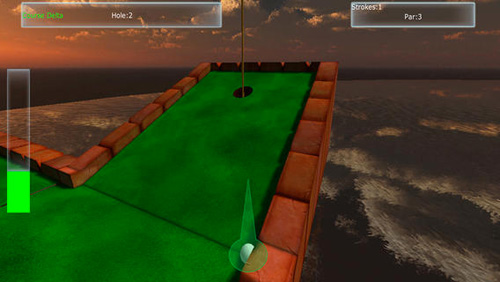 Descarga gratuita de Amazing mini golf 3D para iPhone, iPad y iPod.