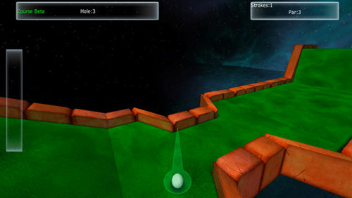 Capturas de pantalla del juego Amazing mini golf 3D para iPhone, iPad o iPod.