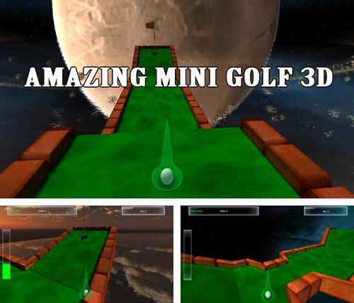 Download Amazing mini golf 3D iPhone free game.