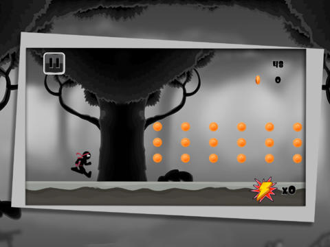 Capturas de pantalla del juego Amazing Ninja Stickman para iPhone, iPad o iPod.